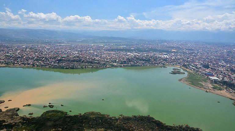Resultado de imagen de laguna Alalay