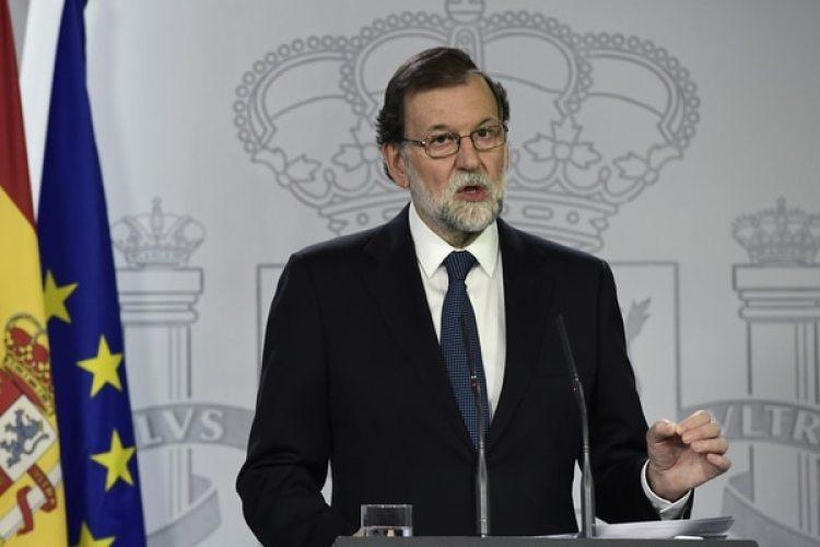 Mariano Rajoy hablará este miércoles en el Congreso español (AFP)