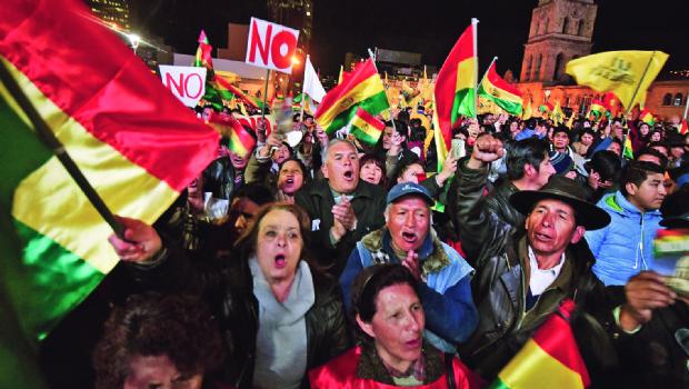 La Paz anuncia que no acatará fallo del TCP sobre reelección