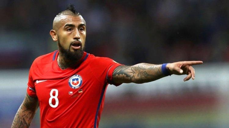 Arturo Vidal, estrella del Bayern Munich y de la selección de Chile (Getty Images)