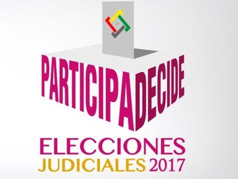 Logotipo de las elecciones judiciales del 3 de diciembre