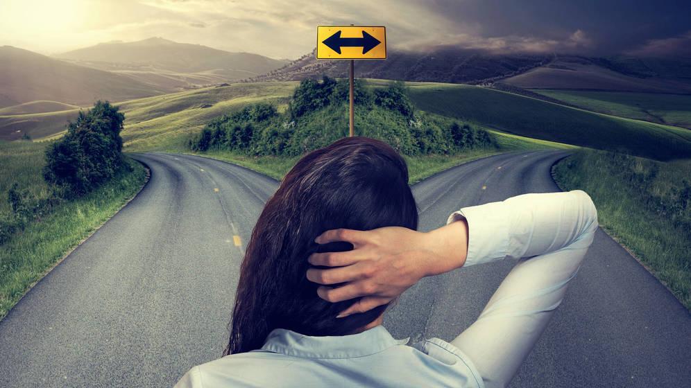 Foto: Elegir a veces causa fatiga. (iStock)