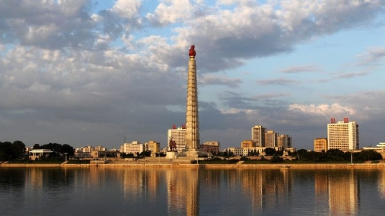 La Torre de la Idea Juche en Pyongyang