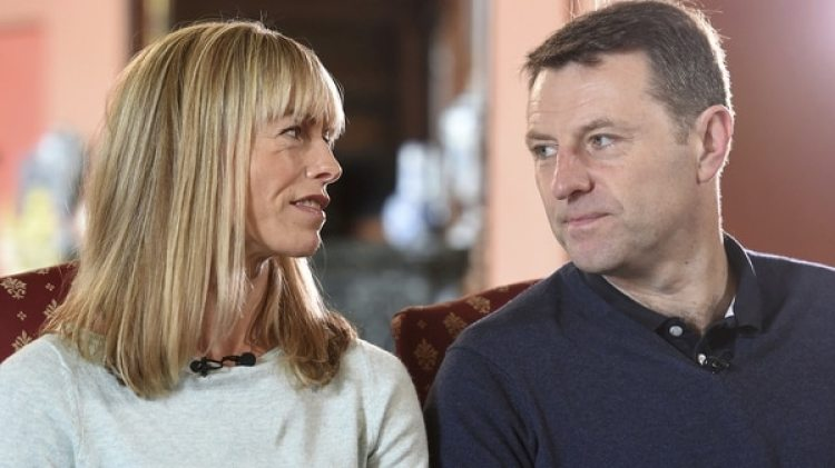 Kate y Gerry McCann (AP)