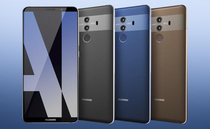 Huawei presenta los Huawei Mate 10: menos marcos, misma esencia
