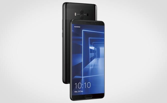 Huawei demuestra a Samsung que biometría y diseño pueden ir de la mano
