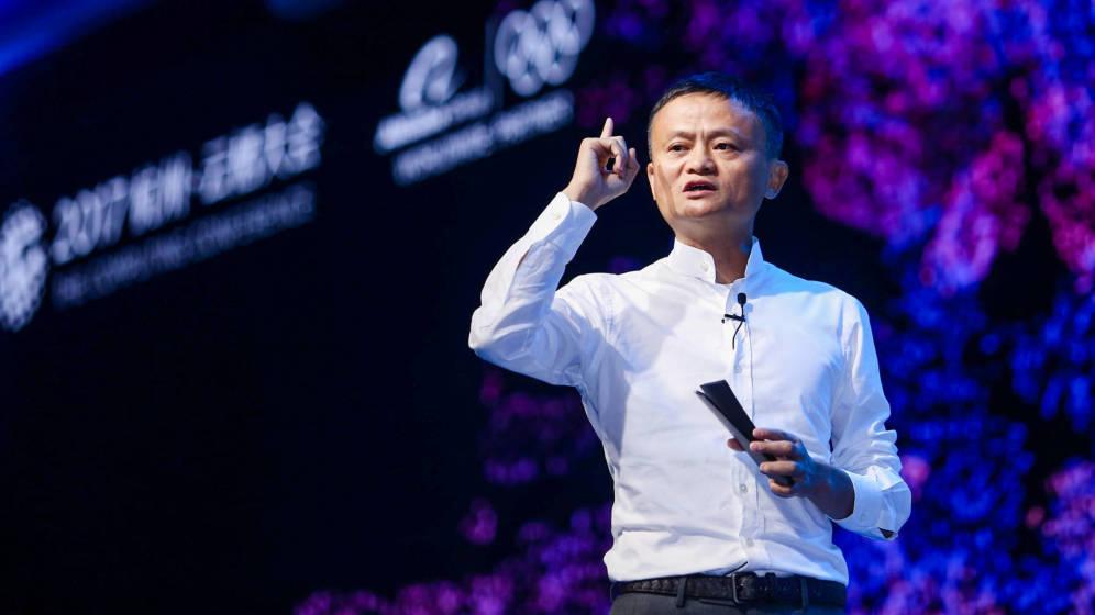Foto: Todos los eventos en los que aparece Jack Ma son un espectáculo. (Reuters)