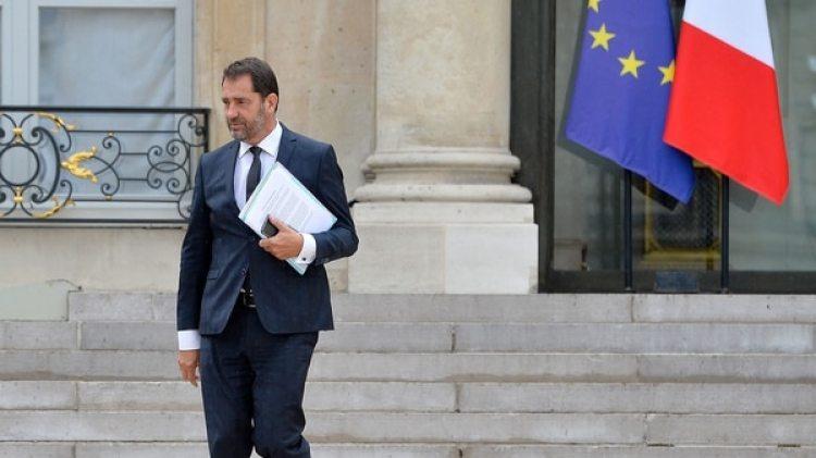 Christophe Castaner, vocero del gobierno de Emmanuel Macron, estaba en la lista de los amenazados por el supuesto complot (Getty Images)