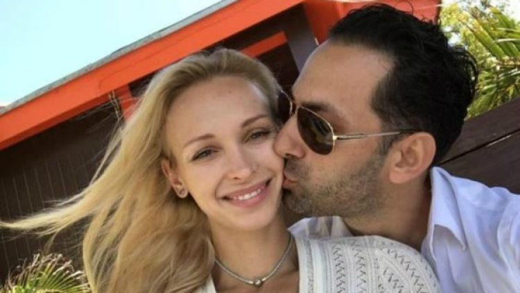 Guy Gentile y Kristina Kuchma.