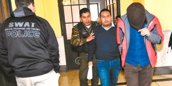 La Policía revela que Asoban reorganiza la vigilancia