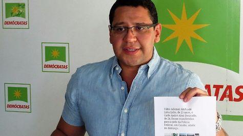 El diputado de oposición Tomás Monasterios