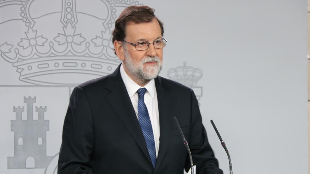 Rajoy propone cesar a Puigdemont y su Govern y convocar elecciones antes de seis meses