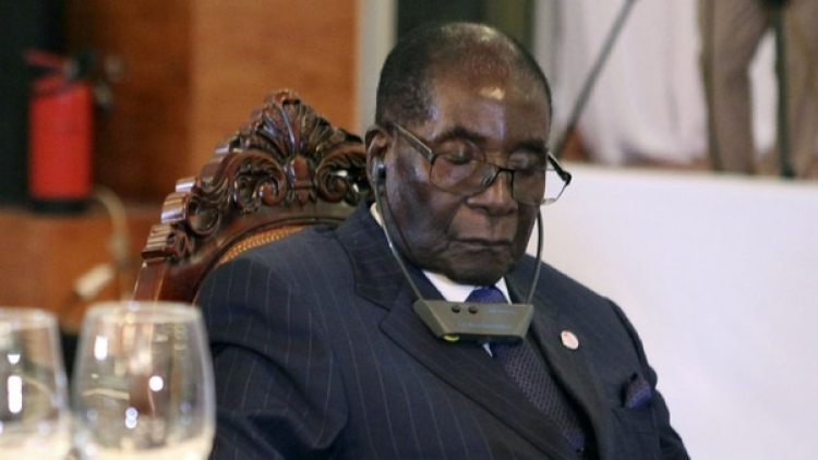 Robert Mugabe, dictador de Zimbabue