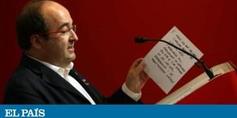 La intervención aumenta la tensión en el PSC y complica su relación con el PSOE