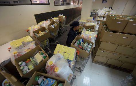 Agencia distribuidora del subsidio materno en La Paz. Foto: Archivo La Razón
