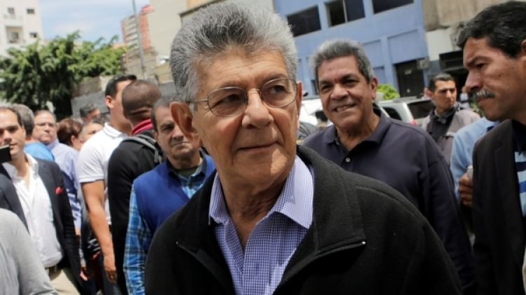 El ex presidente del parlamento venezolano, Henry Ramos Allup (Reuters)