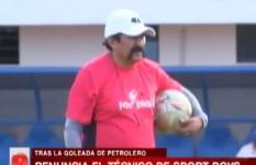 Sport Boys aceptó la renuncia de Sergio Apaza