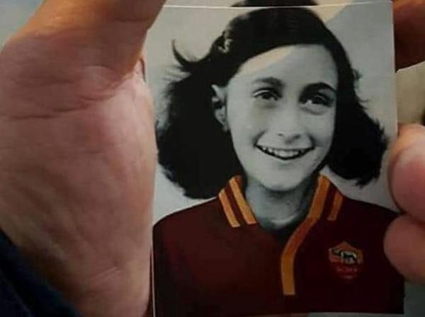 Escándalo racista en Lazio por usar a Ana Frank