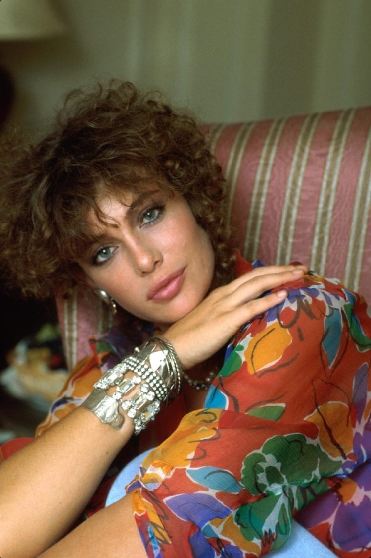 Kelly LeBrock, en sus primeros años como actriz (Getty Images)
