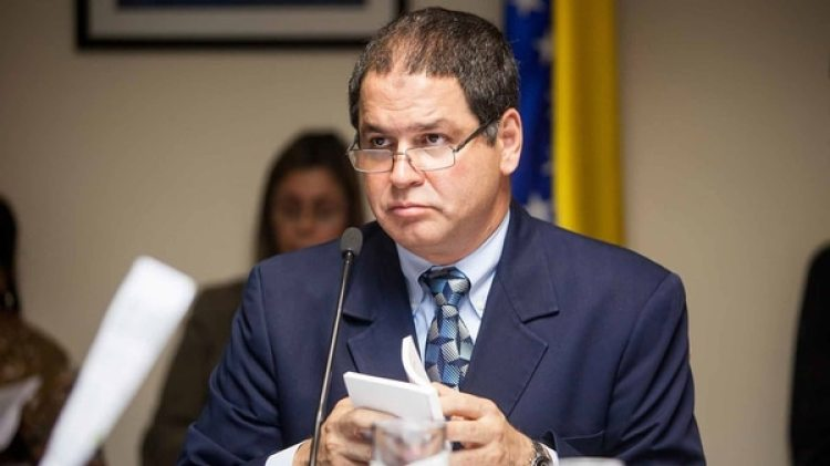 Luis Florido, el representante de la oposición venezolana