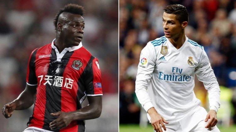 Balotelli admira a Cristiano pero su ídolo es el brasileño Ronaldo (Foto: Infobae)