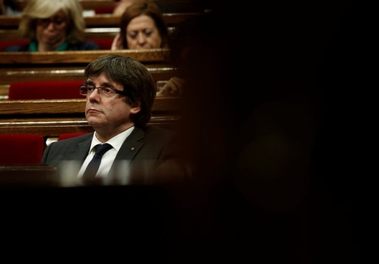 Carles Puigdemont (REUTERS/Albert Gea)