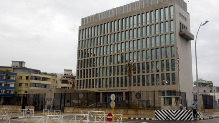 Embajada de los Estados Unidos en La Habana.