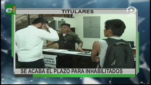 Video titulares de noticias de TV – Bolivia, mediodía del sábado 14 de octubre de 2017