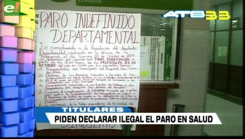 Video titulares de noticias de TV – Bolivia, mediodía del jueves 26 de octubre de 2017