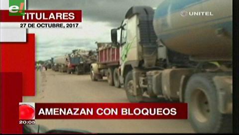 Video titulares de noticias de TV – Bolivia, noche del viernes 27 de octubre de 2017