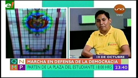 Democracia boliviana está en terapia intensiva, advierten plataformas ciudadanas