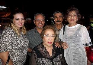 Cristina Jordan, Alvaro Ortiz, Jorge Hurtado, Aide Claros de Ortiz y Mirtha Leiva