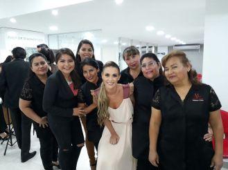 Mariluz Vargas, Belen Madeiros, Romina Garcia, Roxana Enriquez, Yackelin Aguilar, Antonia Rios