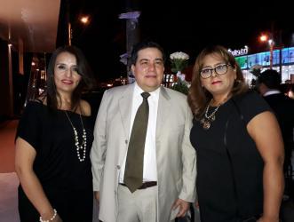Winny Vasquez, Erwin Hornez y Luz Ortiz