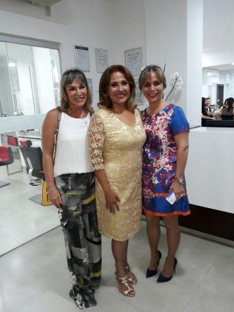 Cecilia Parada, Mary Lizzie y Ana Morin