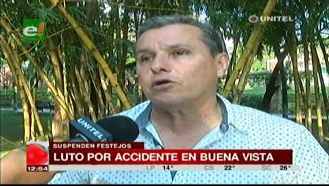 Alcaldía de Buena Vista suspende festejos por muerte de José Miguel Vaca Díez