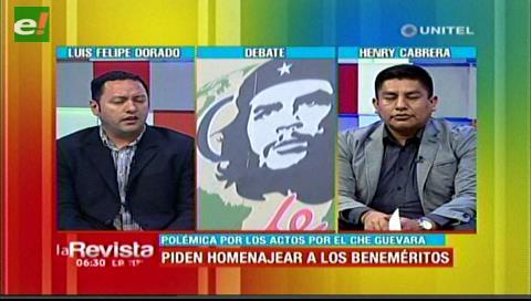 """Oposición dice que el """"Che"""" Guevara asesinó bolivianos, el MAS lo llama héroe"""