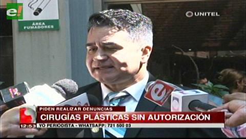 Cirujanos plásticos fiscalizarán los centros estéticos que realicen cirugías sin autorización