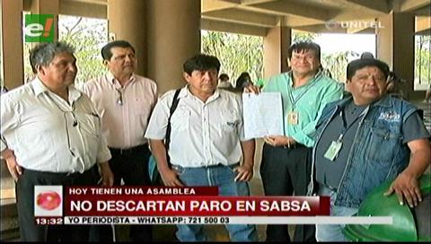Trabajadores de Sabsa se reúnen para definir medidas de presión