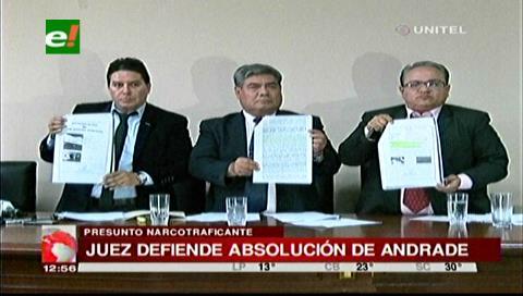 La Asociación de Jueces respalda el fallo del tribunal en la liberación de Fabio Andrade