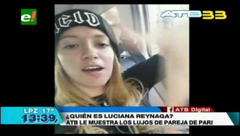 Conozca a Luciana Reynaga, la pareja del desfalcador Juan Pari, que disfrutaba de una vida de lujo