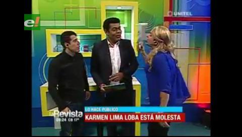 Humor: Karmen Lima Loba increpa a Fermín Zabala