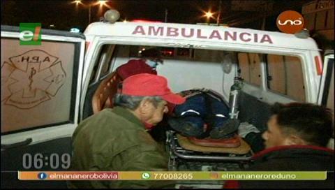 Vehículo atropelló a una mujer y se dio a la fuga