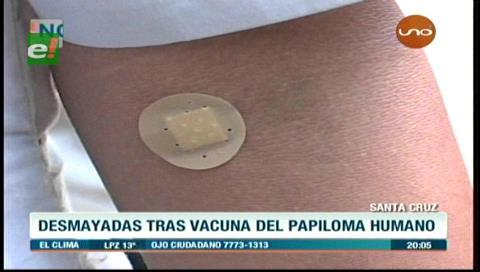 Denuncia: Niñas sufren desmayos tras ser vacunadas contra el VPH