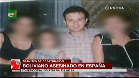 Repatriarán a boliviano que fue asesinado por su cónyuge en España