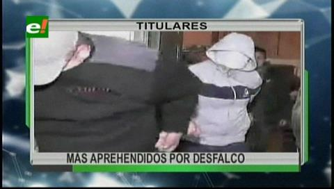 Video titulares de noticias de TV – Bolivia, noche del lunes 30 de octubre de 2017