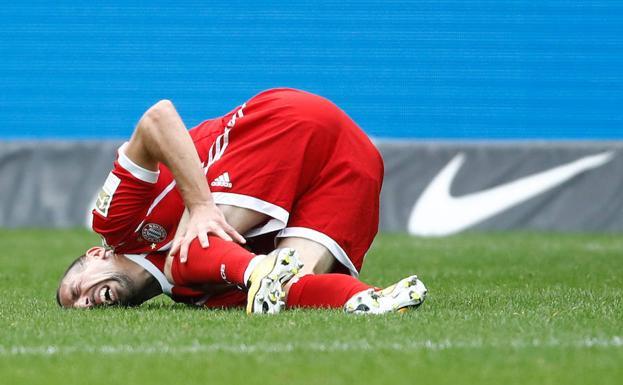 Bayern Múnich confirmó la lesión de Franck Ribéry