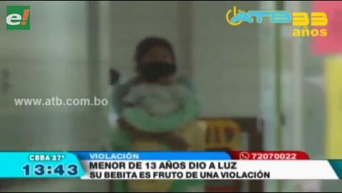 Adolescente de 13 años fue violada por su padrastro y quedó embarazada