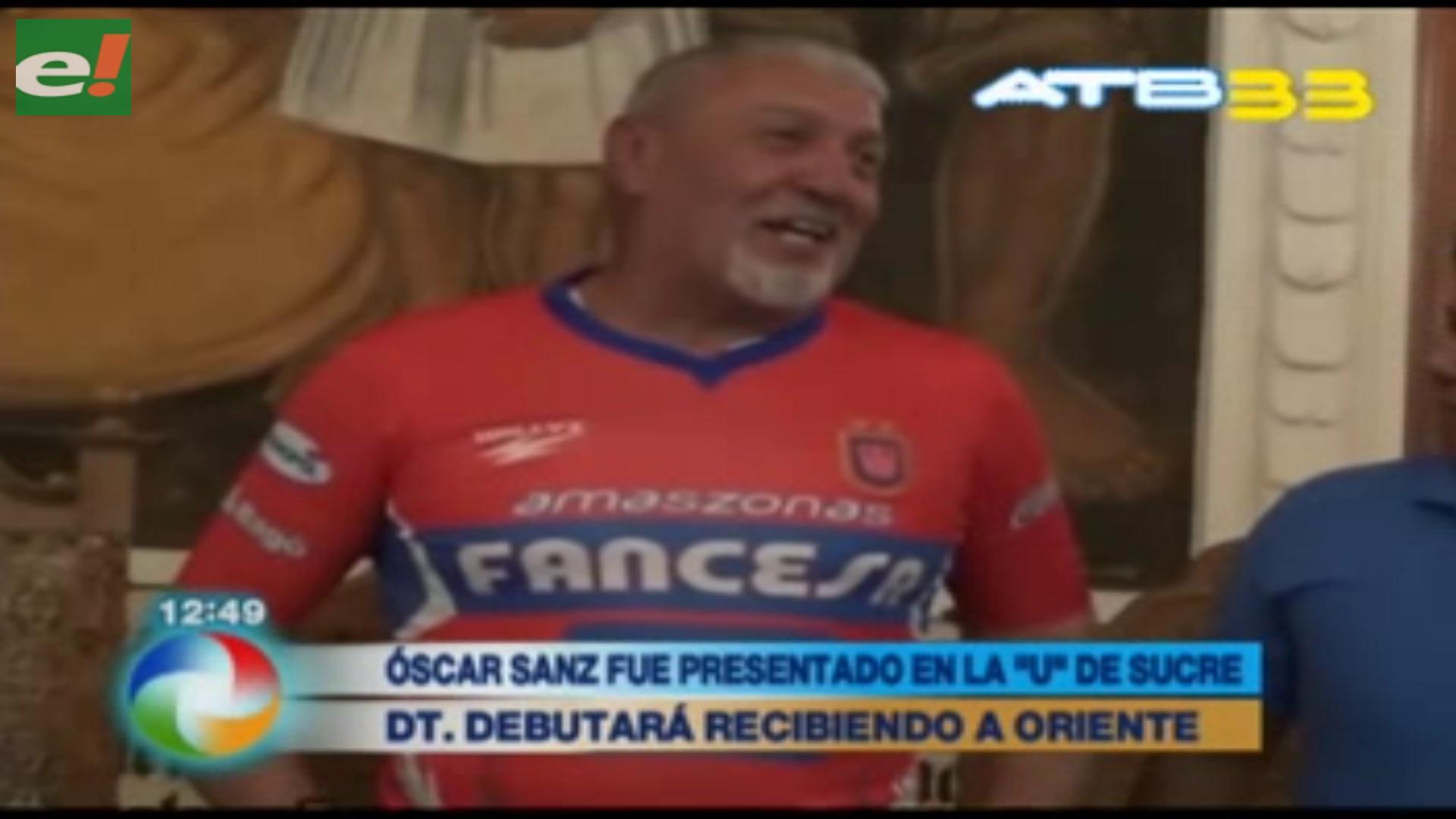 """Óscar Sanz tildado """"El Salvador"""" de la U"""