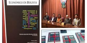 """Lanzamiento del libro: """"Tópicos del crecimiento económico en Bolivia"""""""